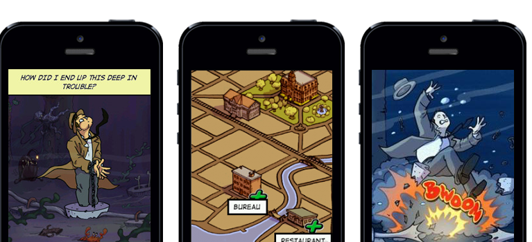 Mobile Comicbook App