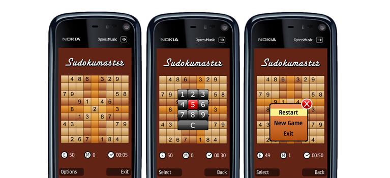 Sudokumaster Mobile Game